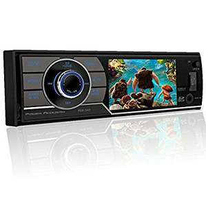 Amazon: Power Acoustik pdr-340t DIN EN Dash Car Audio Estéreo receptor de CD Reproductor de DVD