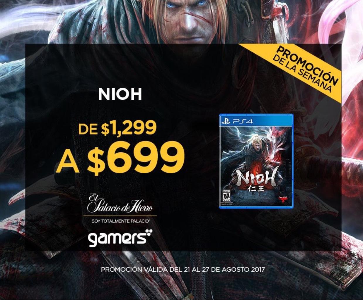 El Palacio de Hierro: Nioh para PS4