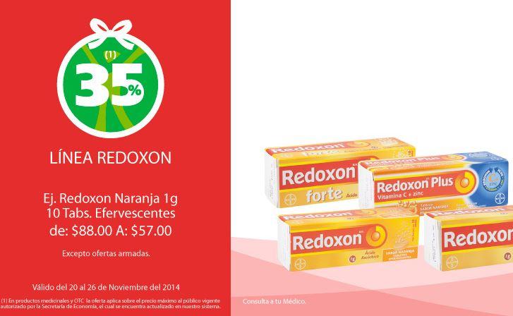 Farmacias San Pablo: 35% de descuento en Redoxon, Voltarén (RX) y más
