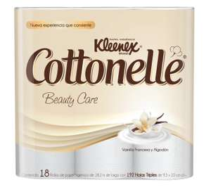 Amazon: Kleenex Cottonelle Beauty Care 18 Rollos