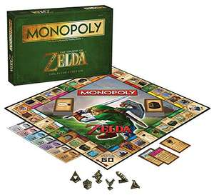 Amazon: Monopoly The Legend of Zelda Edición de Colección