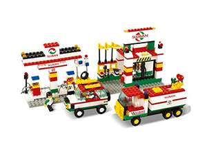 Amazon: Sluban construcción y bloques m38-b2600 Gas Station Building Block Set de construcción (435 Piezas)