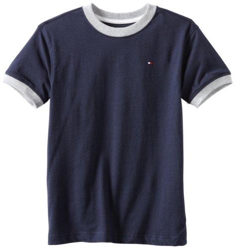 Amazon: Tommy Hilfiger Boys' Core Crew-Neck Ken T-Shirt talla G