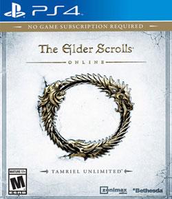 Mixup: THE ELDER SCROLLS ONLINE TAMRIEL UNLIMITED PS4