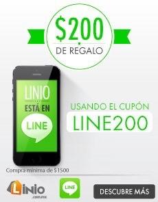 Linio: $200 de descuento en compras de $1,500 por suscribirte a LINE