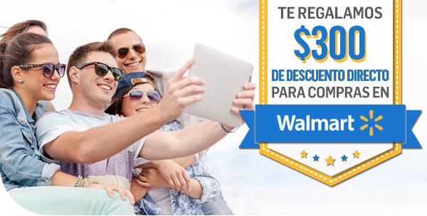 Walmart: $300 de descuento en compras de $1,000 al pagar con Mercado Pago