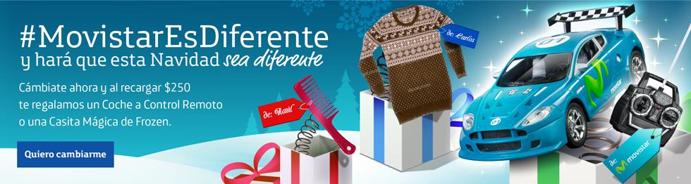 Movistar: gratis carro de control remoto o casa de Frozen al comprar y recargar $250