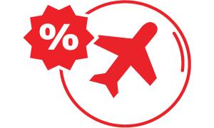 Vivaerobus: 2x1 viajando acompañado o 30% viajando solo