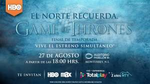 Auditorio Pabellon M MTY - cortesias game of thrones final de temporada - TotalPlay Invita
