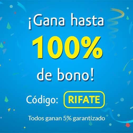 Undostres: recargas bonificación desde 5% hasta 100%