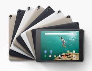 Linio: tablet Nexus 9 (16 gb) $6,921