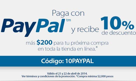 Walmart: 10% de descuento + $200 de bonificación con PayPal (ej: iPad Mini $3,501)