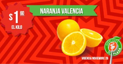 Miércoles de Plaza en La Comer noviembre 26: naranja $1.60 el kilo y más