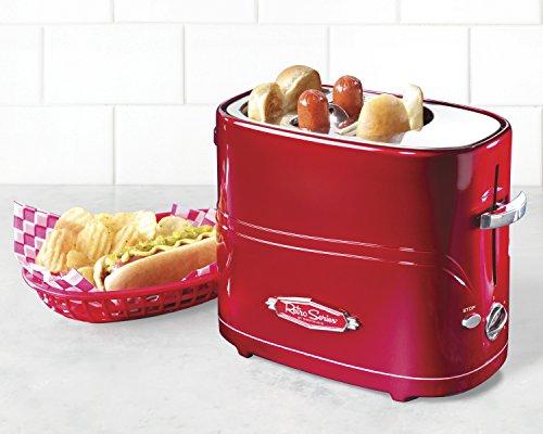 Amazon: Tostadora de 2 Hot Dogs retro (Prime) Nostalgia Electrics HDT600RETRORED