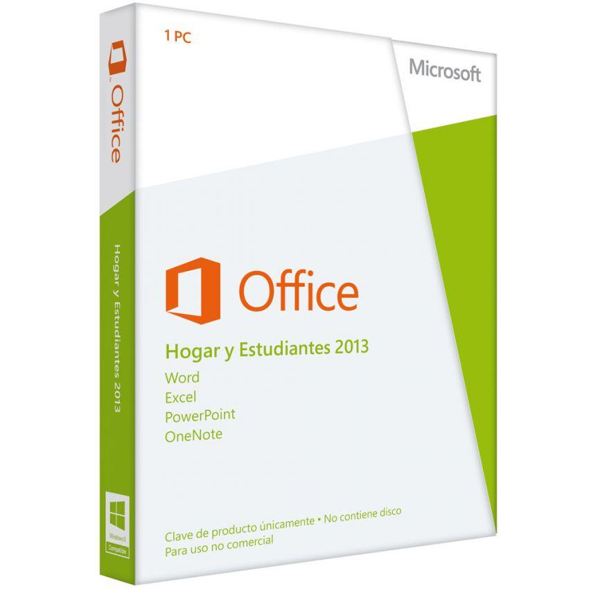 Linio: Microsoft office Hogar y Estudiantes 2013 (para toda la vida) $1,130