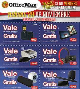 Ofertas de Black Friday en OfficeMax