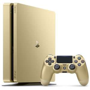 Linio: PlayStation 4 Slim 1TB Limited Edition Gold