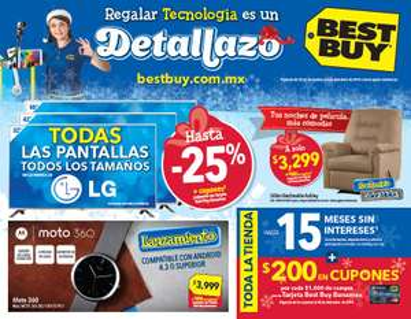 Folleto de ofertas de Best Buy del 27 de noviembre al 3 de diciembre