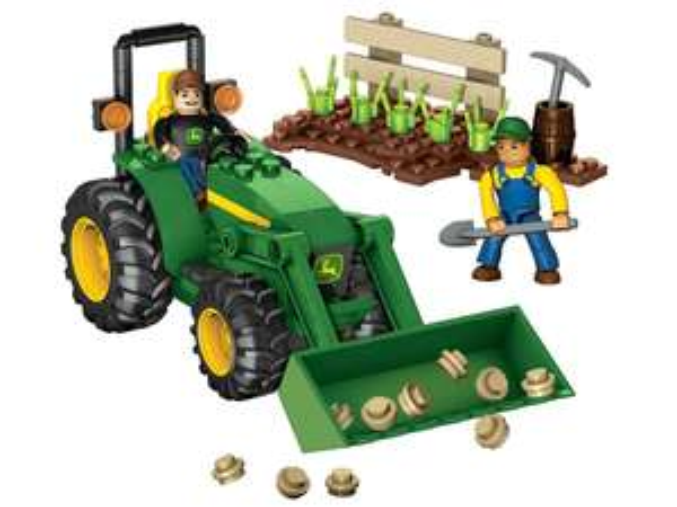 Mega Blocks Tractor de Granja Jhon Deere $52