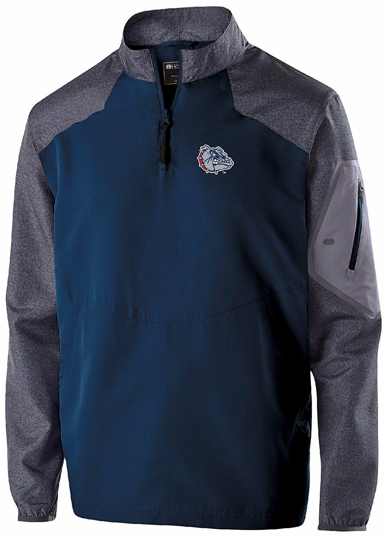 Amazon: Ouray SportswearNCAA Men's Raider Pullover, azul marino, carbón (Carbon Print/Navy), Grande . Aplica Prime entrega de 6 a 9 días.