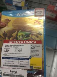 Coppel: Zelda Wind Waker HD $400