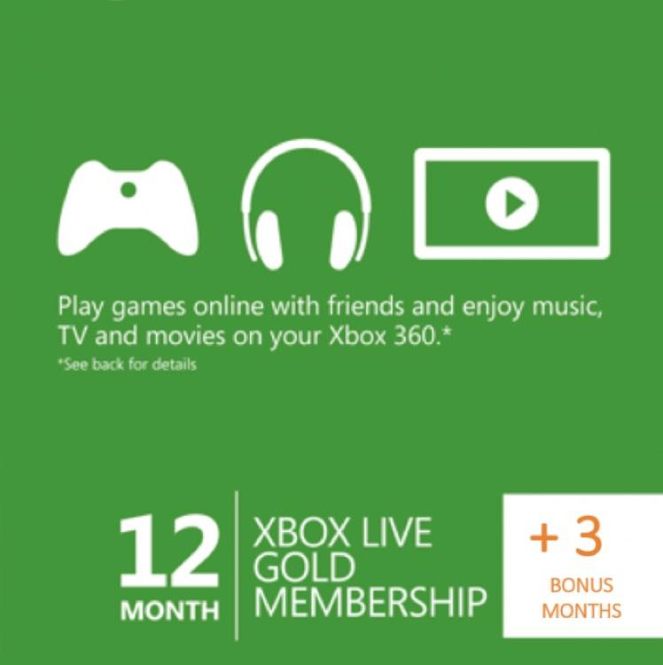 Cdkeys: Xbox Live Gold de 15 meses a $990