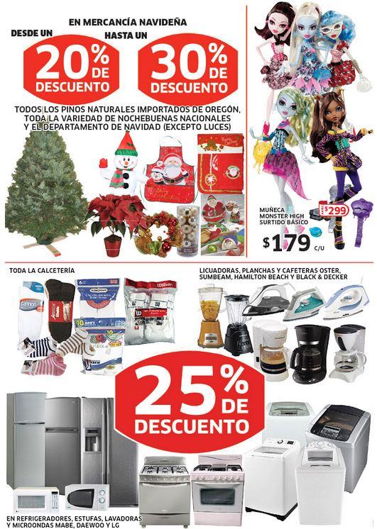 Soriana: muñecas Monster High $179, 25% menos en línea blanca, electrodomésticos, calcetines y más