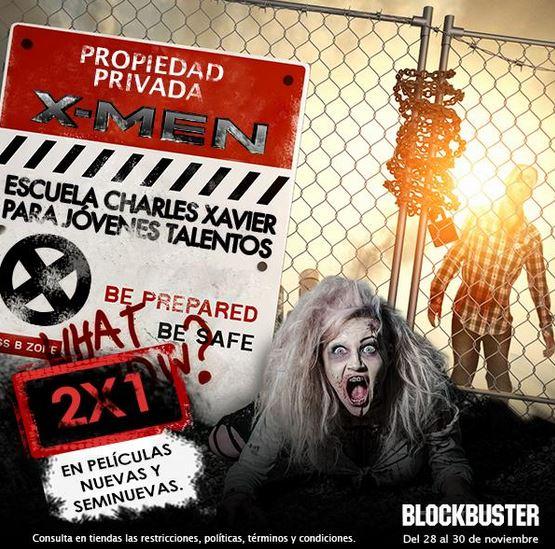 Blockbuster: 2x1 en películas nuevas y seminuevas