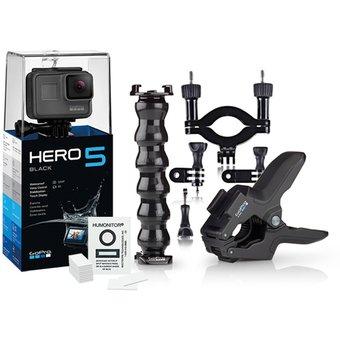 Linio: GoPro HERO5 Black + Accesorios GoPro con cupón PP5
