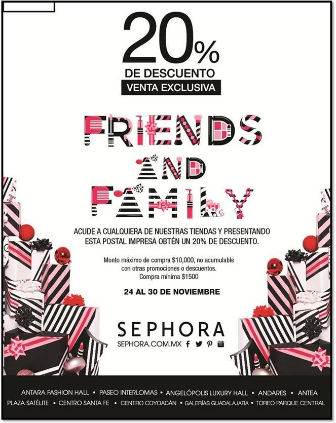 Sephora: cupón de 20% de descuento
