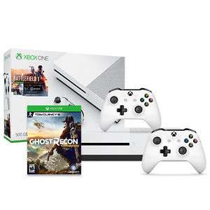 eBay: Consola Xbox One S Battlefield 500GB + Control extra + Ghost Recon Wildlands