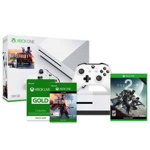 eBay:  Xbox One S Battlefield 1 500GB Bundle + Destiny 2 (Disc) + Xbox Live 3 Month