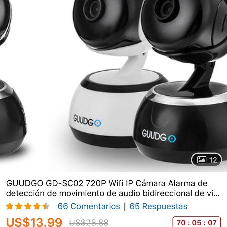 Banggood: Cámara de vigilancia GUUDGO muy barata