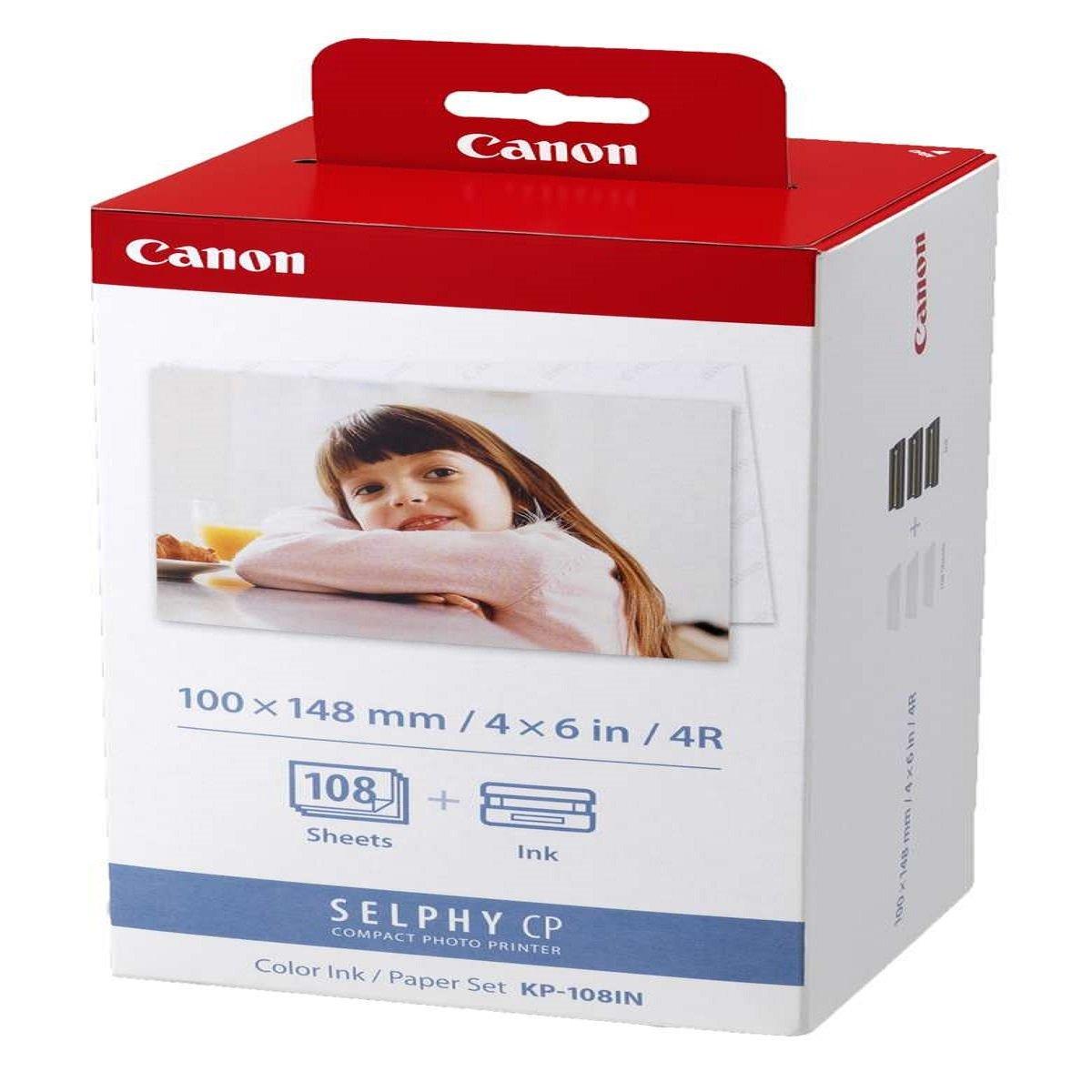 ClaroShop: Cartucho para impresora Canon Selphy de 108 hojas