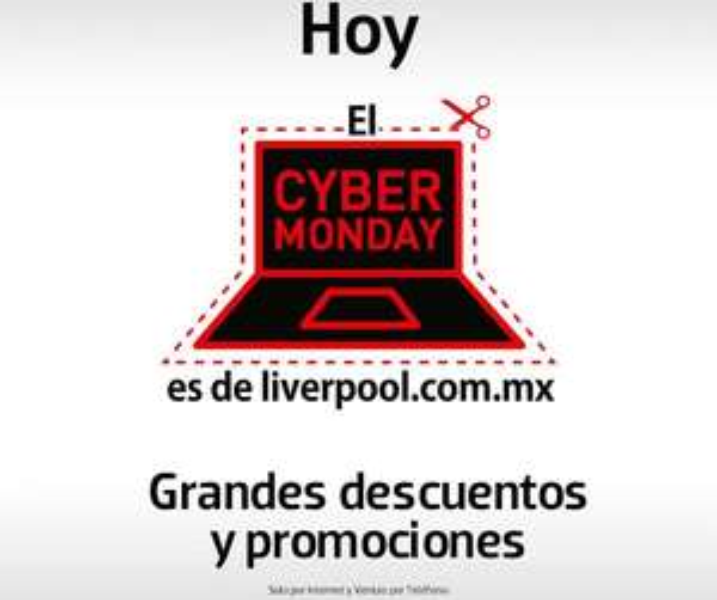 Resumen de ofertas de Cyber Monday 2014 en Liverpool