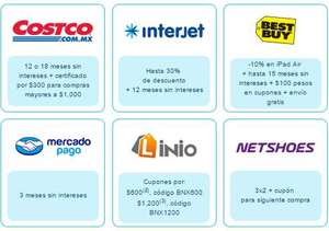 Cyber Monday con Banamex en Best Buy, Costco, Interjet, Netshoes y más
