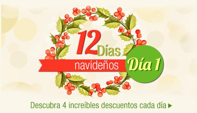 12 días navideños COSTCO (ofertas diferentes cada día)