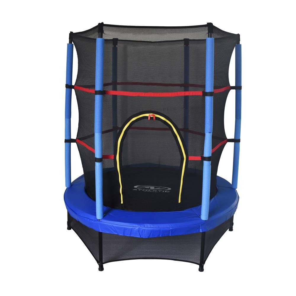 Walmart mini trampol n athletic works 4 5 pies con malla for Cuanto cuestan las albercas en walmart