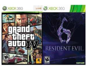 Coopel: pack con Resident Evil 6 y Grand Theft Auto IV