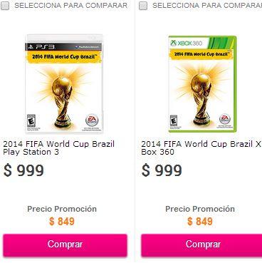 Liverpool: juego World Cup Brazil 2014 $849 ($801 en Walmart con AMEX)