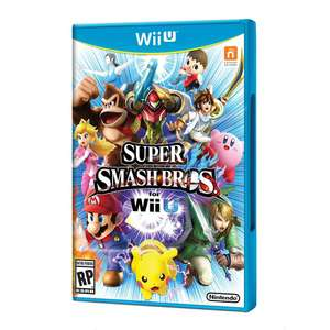 Walmart: Smash bros for wii u + amiibo con Mercadopago $788 y 3 MSI