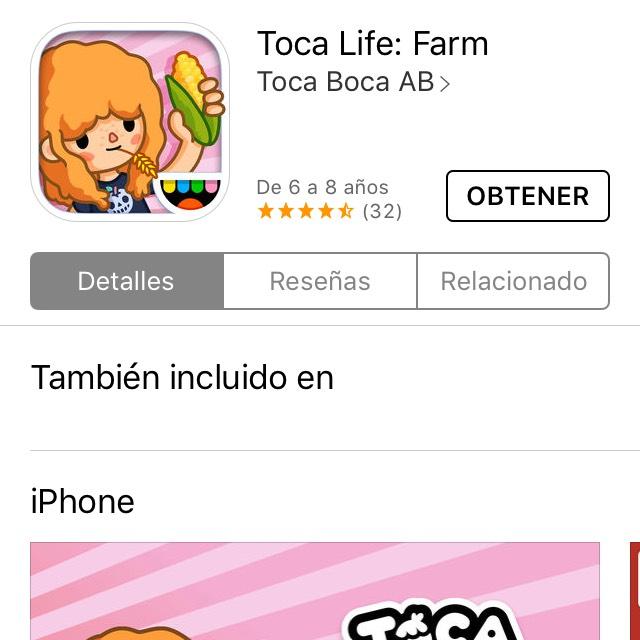 App Store: Toca life farm