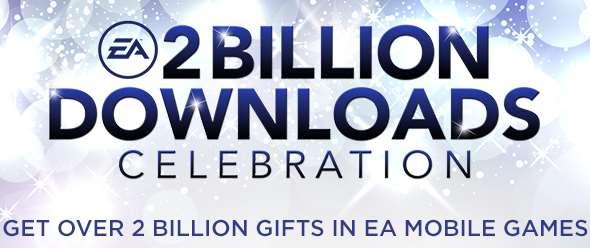 Contenido gratis para juegos de Electronic Arts de iPhone y Android