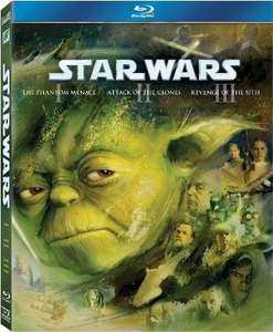 Best Buy: STAR WARS THE PREQUEL TRILOGY EPISODES I - II - III (BLU-RAY) con 70% de descuento