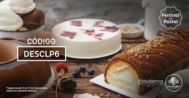 El Globo: 15% en pasteles helados con cupón