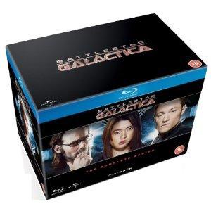 Amazon UK: colección completa de Battlestar Galactica en Blu-Ray  $650 incluye envío.
