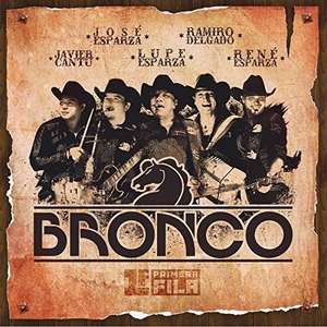 Amazon: Bronco. 1a Fila CD+DVD (envío gratis con prime)