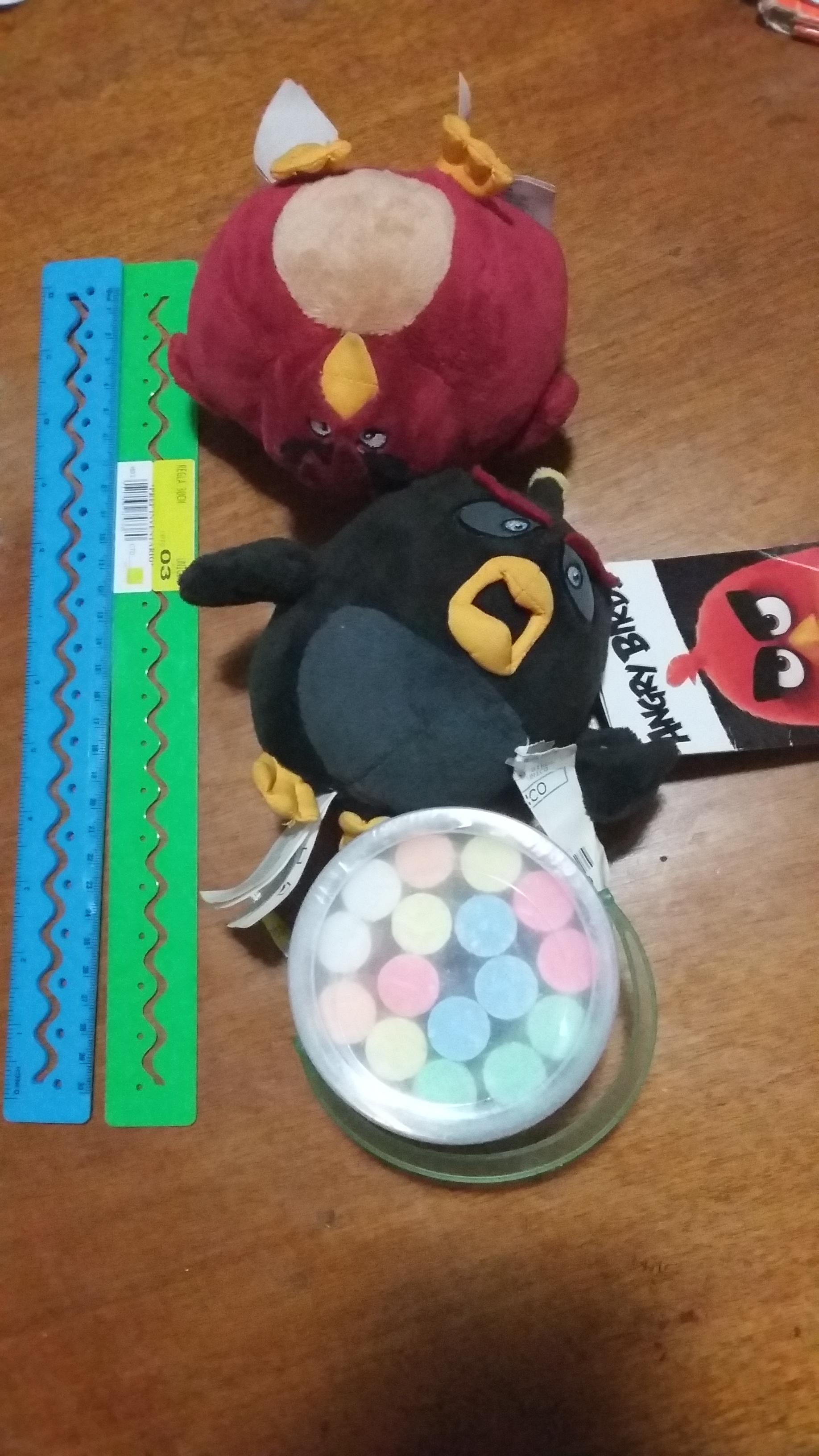 Walmart Plaza Centro Sur, Tlaquepaque: Peluches Angry Birds a $30.01, Halo Wars 2 a $645.01 y más.