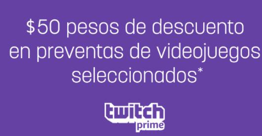 Amazon: $50 de descuento en preventas videojuegos seleccionados con Prime