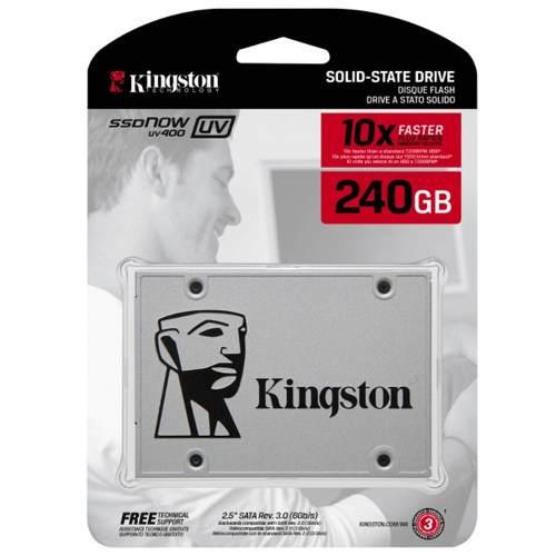 Tienda Oficial Kingston en Mercado Libre: SSD kingston de 240GB SUV400S37/240G en descuento